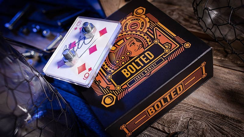 Card Tricks Bolted by Jared Manley TiendaMagia - 2