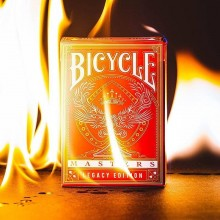 Cards Bicycle Legacy Masters - Red Ellusionist magic tricks - 1