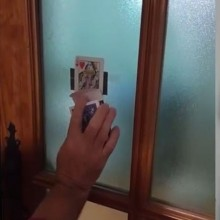 Card Magic and Trick Decks Card Chosen Through The Window by Salvador Olivera video DOWNLOAD MMSMEDIA - 1