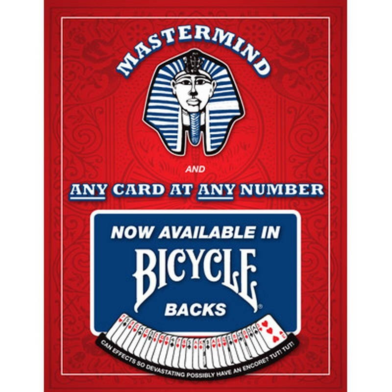 Card Tricks Mastermind 3S - Red Bicycle Only - Christopher Kenworthey TiendaMagia - 1