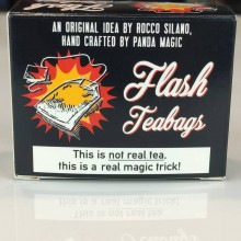 Tricks with fire Flash Teabags for theatrical use (x10) Panda Flash Magic - 1