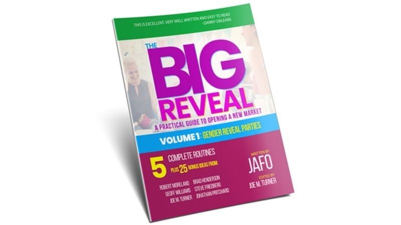 Theory, History and Business The Big Reveal: A Practical Guide to Opening a New Market Volume 1 - Gender Reveal Parties by Jafo