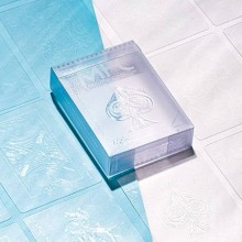 Cards Invisible AQUA Playing Cards by MPC TiendaMagia - 1