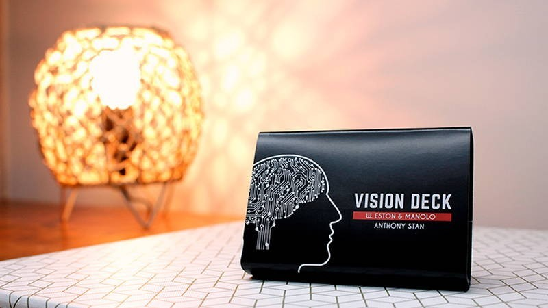 Card Tricks Vision deck by W.Eston, Manolo and Anthony Stan TiendaMagia - 1