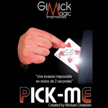 Card Tricks PICK ME by Mickael Chatelain Chatelain - 1