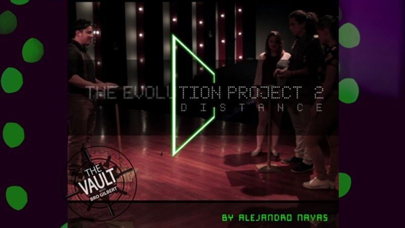 Card Magic and Trick Decks The Vault- The Evolution Project 2 Distance by Alejandro Navas MMSMEDIA - 1
