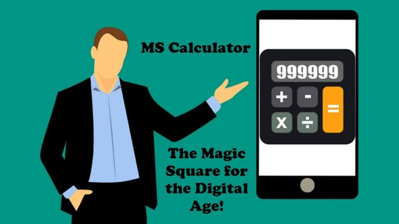 Mentalism,Bizarre and Psychokinesis Performer MS Calculator (Android Only)by David J. Greene Mixed Media DOWNLOAD MMSMEDIA - 1