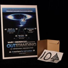 Mentalism OUTSTANDING by Marc Oberon TiendaMagia - 1