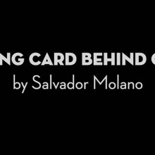 Card Magic and Trick Decks Playing Card Behind Glass by Salvador Molano video DOWNLOAD MMSMEDIA - 1