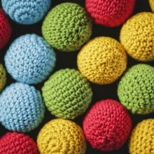 Accesories Various Crochet Ball Set for cups and balls by TCC TCC - 1