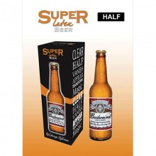 Parlor Magic Super Latex Brown Beer Bottle (Clear) by Twister Magic Twister Magic - 1