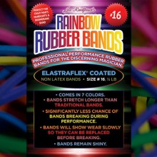 Accesories Various Joe Rindfleisch's SIZE 16 Rainbow Rubber Bands (Combo Pack) TiendaMagia - 2