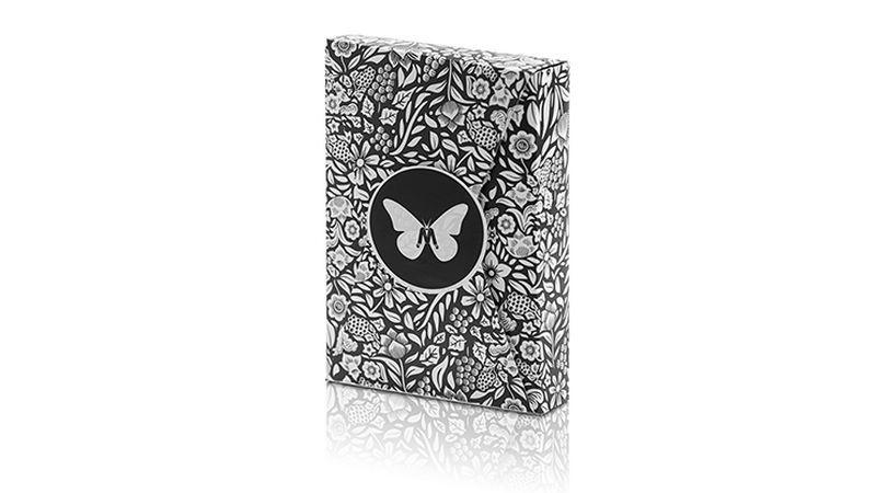 Barajas Especiales Baraja Butterfly Edición Limitada Marcada (Negra y Blanca) de Ondrej Psenicka TiendaMagia - 1