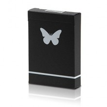 Trick Decks Butterfly Marked deck Limited Edition (Black and White) by Ondrej Psenicka TiendaMagia - 2