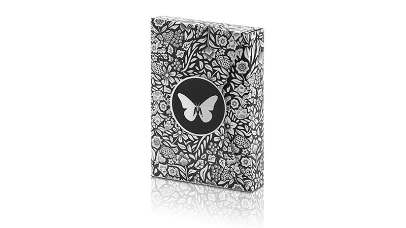 Trick Decks Butterfly Marked deck Limited Edition (Black and Silver) by Ondrej Psenicka TiendaMagia - 1