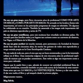 """Magic Books De Ilusión También se Vive de Andreu Llorens """"Mag Selvin"""" - book in spanish TiendaMagia - 4"""