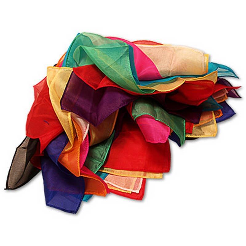 Pañuelos de Seda Fuente de pañuelos de seda - Uday TiendaMagia - 1
