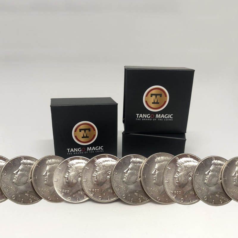 Tango magnetic production half dollar 10 coins