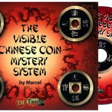 DVD - The Visible Chinese Coin Mystery System (w/Gimmicks) by Marcel and  Tango Magic