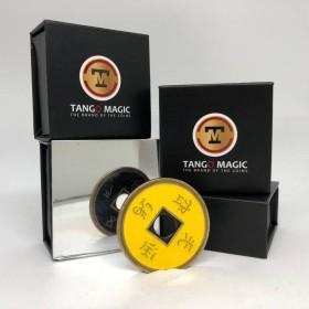 Moneda China Amarilla/Negra Tamaño Un Dólar - Tango