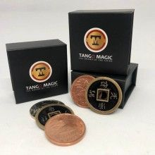Magic with Coins Silver Copper Brass Transposition - Tango Tango Magic - 1