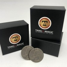 Magic with Coins Crazy Years (includes Two TUC Specially Combined Quarters) by Tango Tango Magic - 1