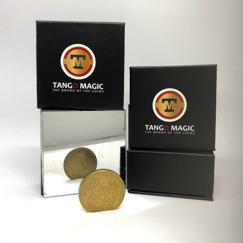 Magic with Coins Double Side Coin - 50 cents Euro Tango Magic - 2