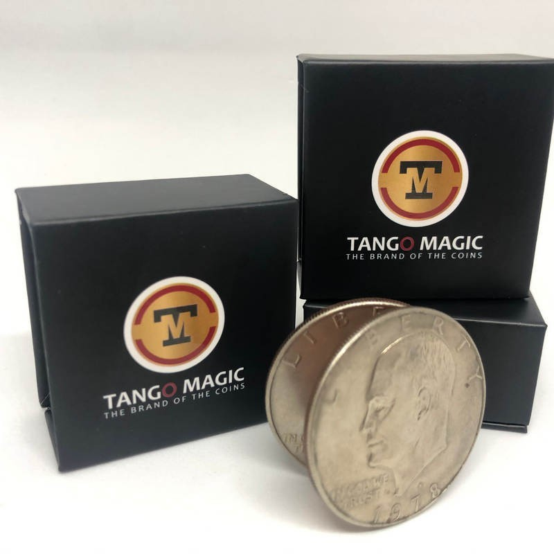 Magic with Coins Expanded Dollar Eisenhower Shell - Tango TiendaMagia - 1