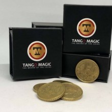 Magic with Coins Perfect Shell Coin Set (Shell and 4 Coins) Tango Magic - 1