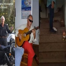 Street Performer Levitating In The Cloud by Salvador Molano video DOWNLOAD MMSMEDIA - 1