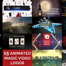 Theory, History and Business 15 Magic Video Logos for Magicians by Wolfgang Riebe mixed media DOWNLOAD MMSMEDIA - 1