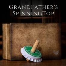 Floating Grandfather's Top by Adam Wilber and Vulpine Creations TiendaMagia - 1