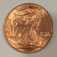 Magic with Coins Copper and Silver Eisenhower - Tango Tango Magic - 3