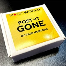 Close Up Post it gone by Julio Montoro and MagicWorld TiendaMagia - 4