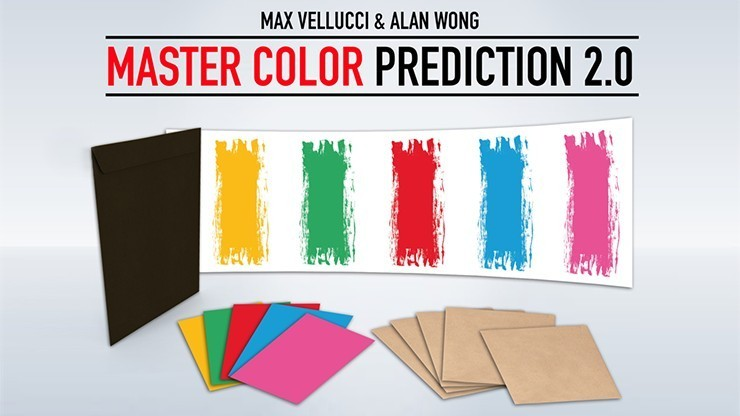 Mentalism Master Color Prediction 2.0 by Max Vellucci and Alan Wong TiendaMagia - 1