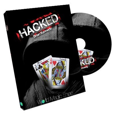 Card Tricks DVD - Hacked (DVD and Gimmick) by Brian Kennedy TiendaMagia - 1
