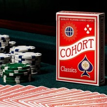Cards Red V2 Cohorts (Luxury-pressed E7) Playing Cards TiendaMagia - 1