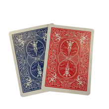 Trick Decks Shim Card Pack (1 Red and 1 Blue) by The Hanrahan Gaff Company USPC - Bicycle - 1