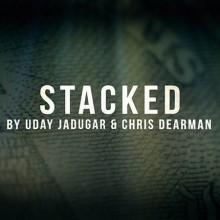 Card Tricks Stacked Euro by Christopher Dearman and Uday Uday - 1