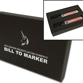 Close Up Bill To Marker by Nicholas Einhorn TiendaMagia - 1