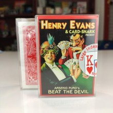 Cards Beat the Devil by Arsenio Puro - standard index  - 3