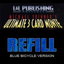 Card Tricks Refill Cards for 3 Card Monte USPC - Bicycle - 1