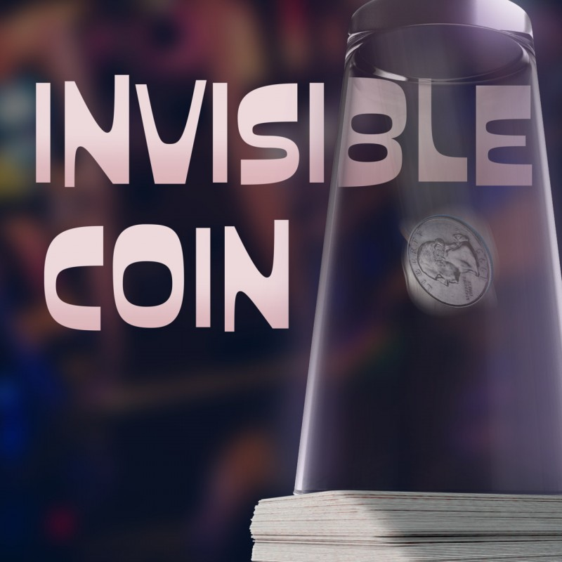 Magic with Coins Invisible Coin by Nathan Kranzo TiendaMagia - 1