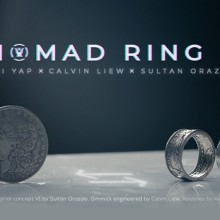Magic with Coins Nomad Ring Mark II by Avi Yap, Calvin Liew and Sultan Orazaly - Skymember TiendaMagia - 6