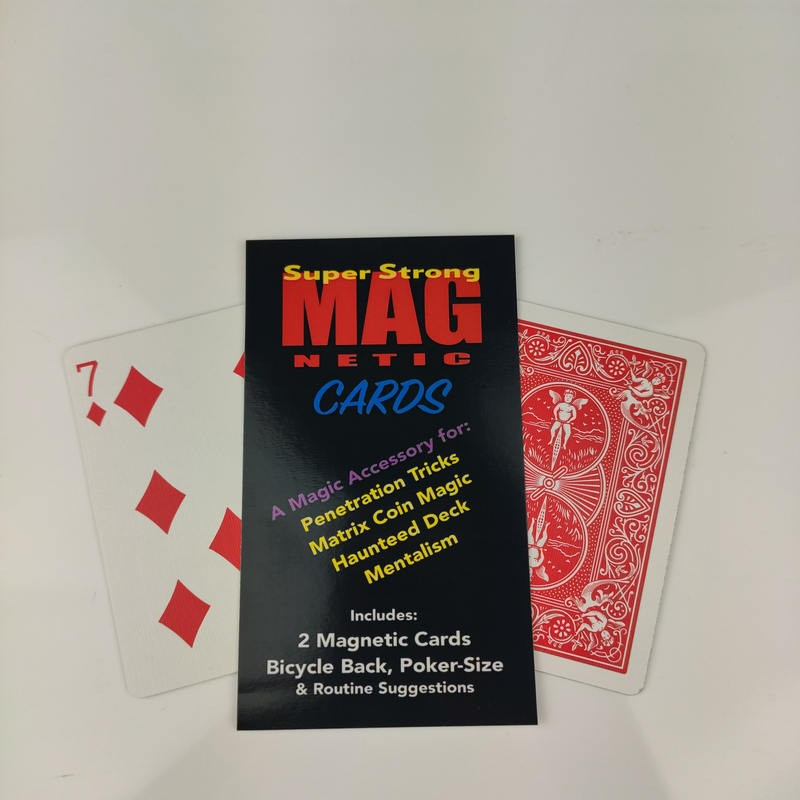 Home Magnetic Cards Bicycle (2 pack) by Chazpro Magic  - 3