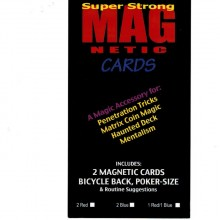 Home Magnetic Cards Bicycle (2 pack) by Chazpro Magic  - 5