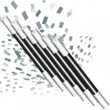 Accesories Various Climax Wand - Silver confetti TiendaMagia - 1