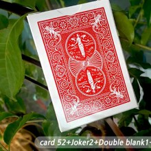 Trick Decks Honor Marked Deck Red Maiden Back by JL Magic JL Magic - 1