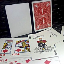 Trick Decks Honor Marked Deck Red Maiden Back by JL Magic JL Magic - 5
