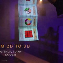 Close Up Rubik's Cube 3D Advertising by Henry Evans and Martin Braessas Henry Evans - 3